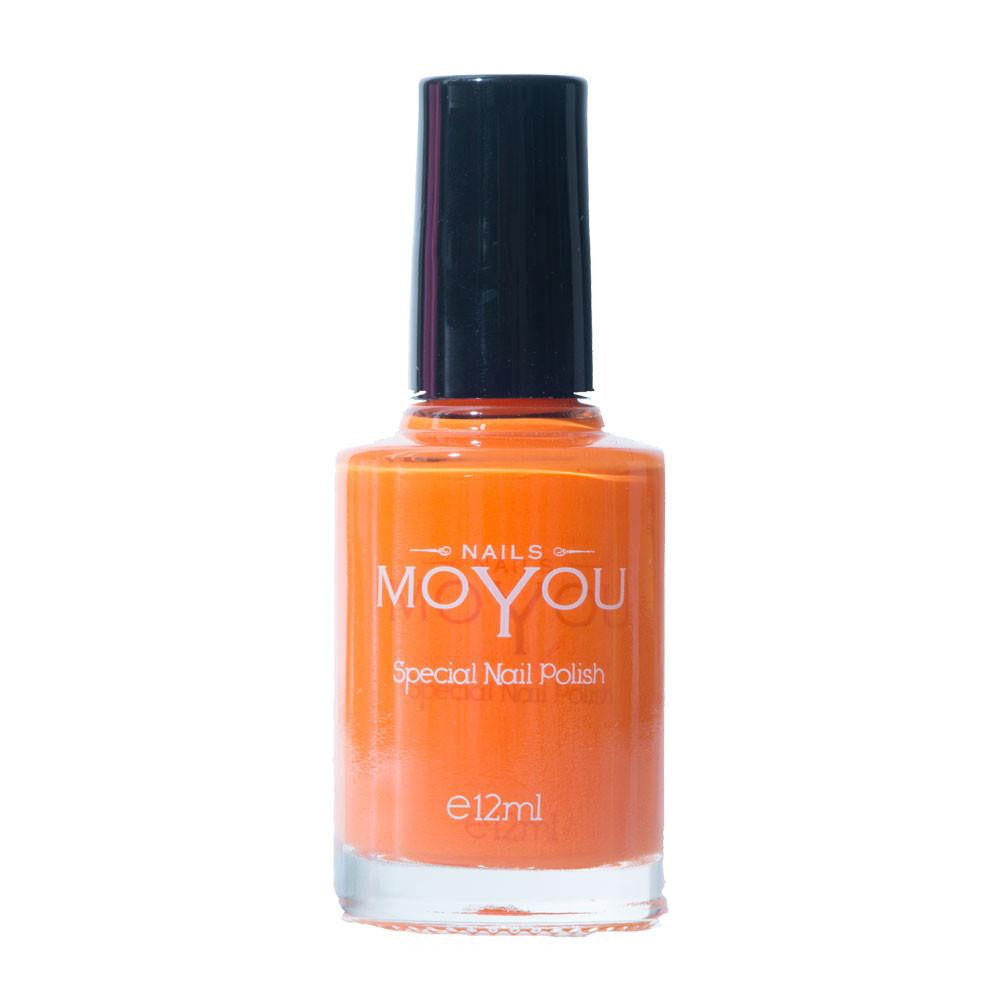 MoYou Nail Fashion Tropical Collection - California Orange