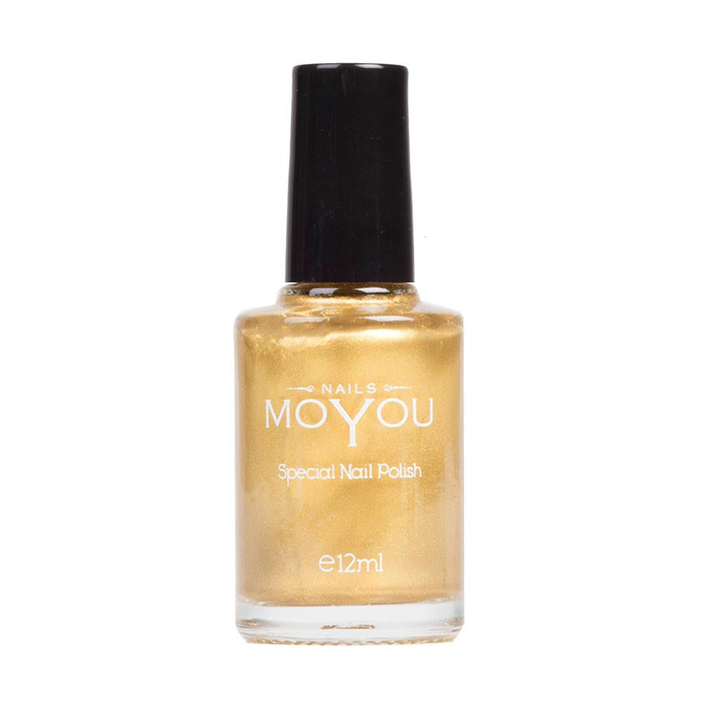 MoYou Nail Fashion Tropical Collection - Gold