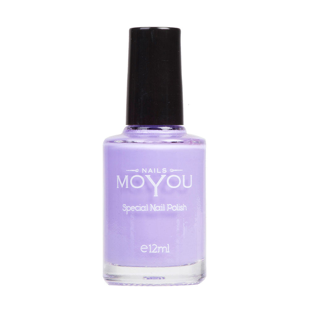 Lilac Stamping Nail Polish by MoYou Nail Fashion