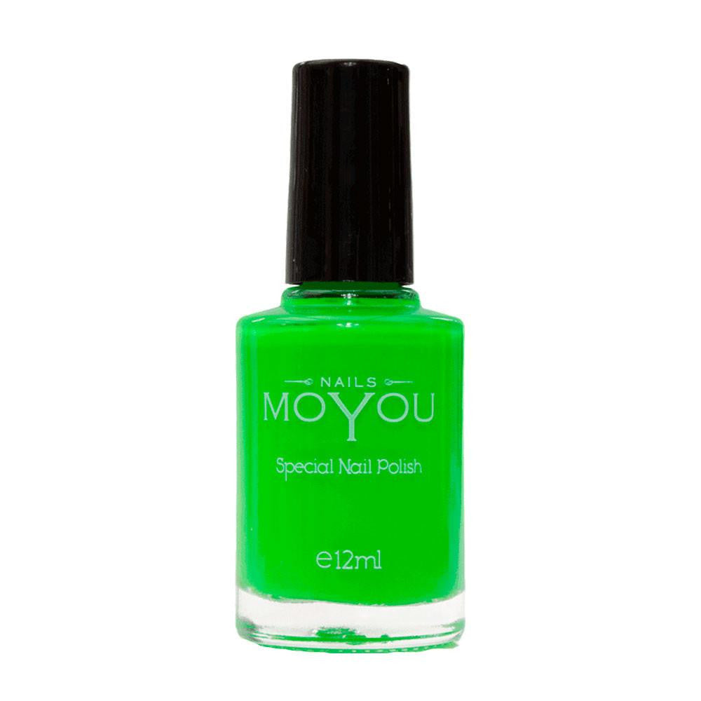 MoYou Nail Fashion Neon Collection - Minty Mojito
