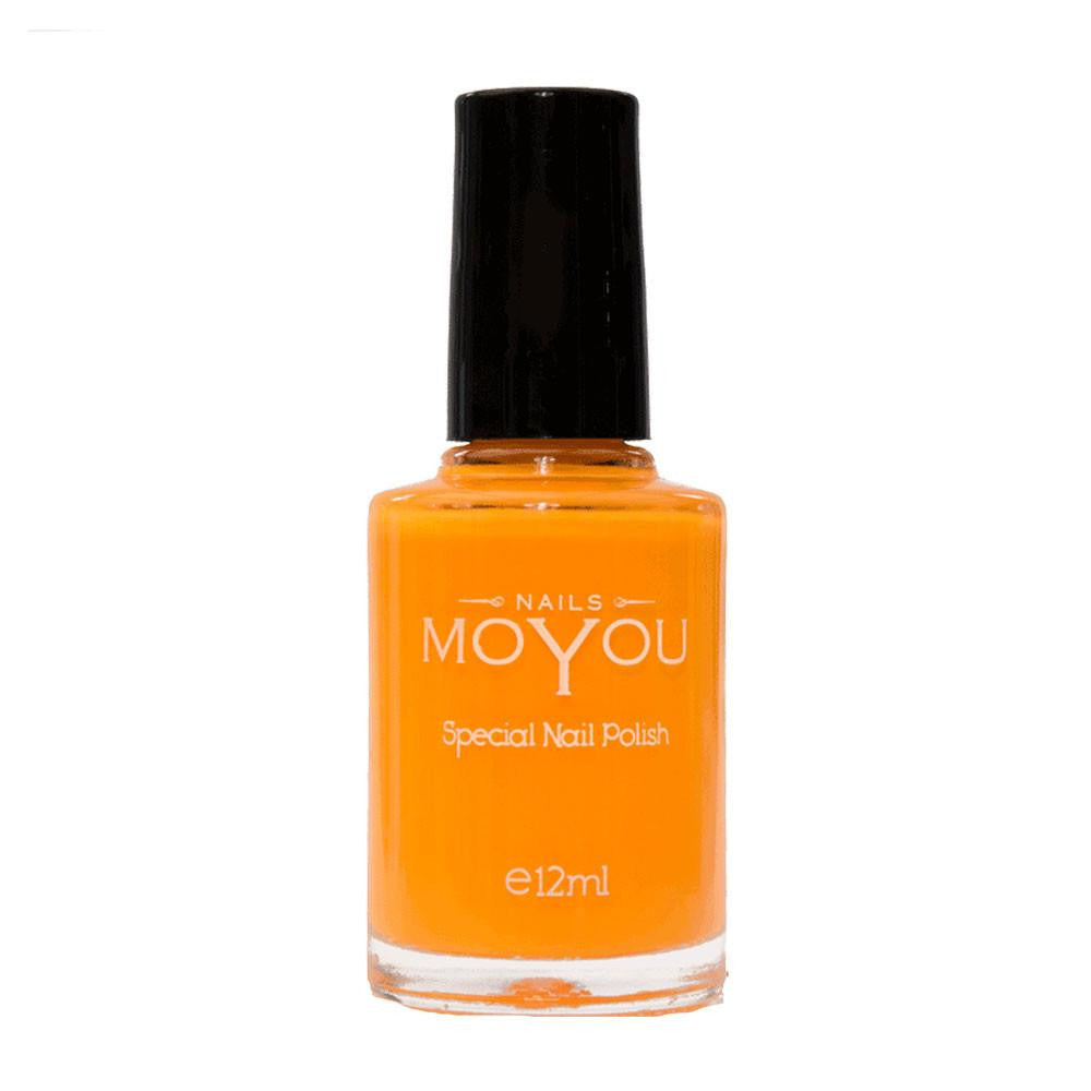 MoYou Nail Fashion Neon Collection - Peachy Passion