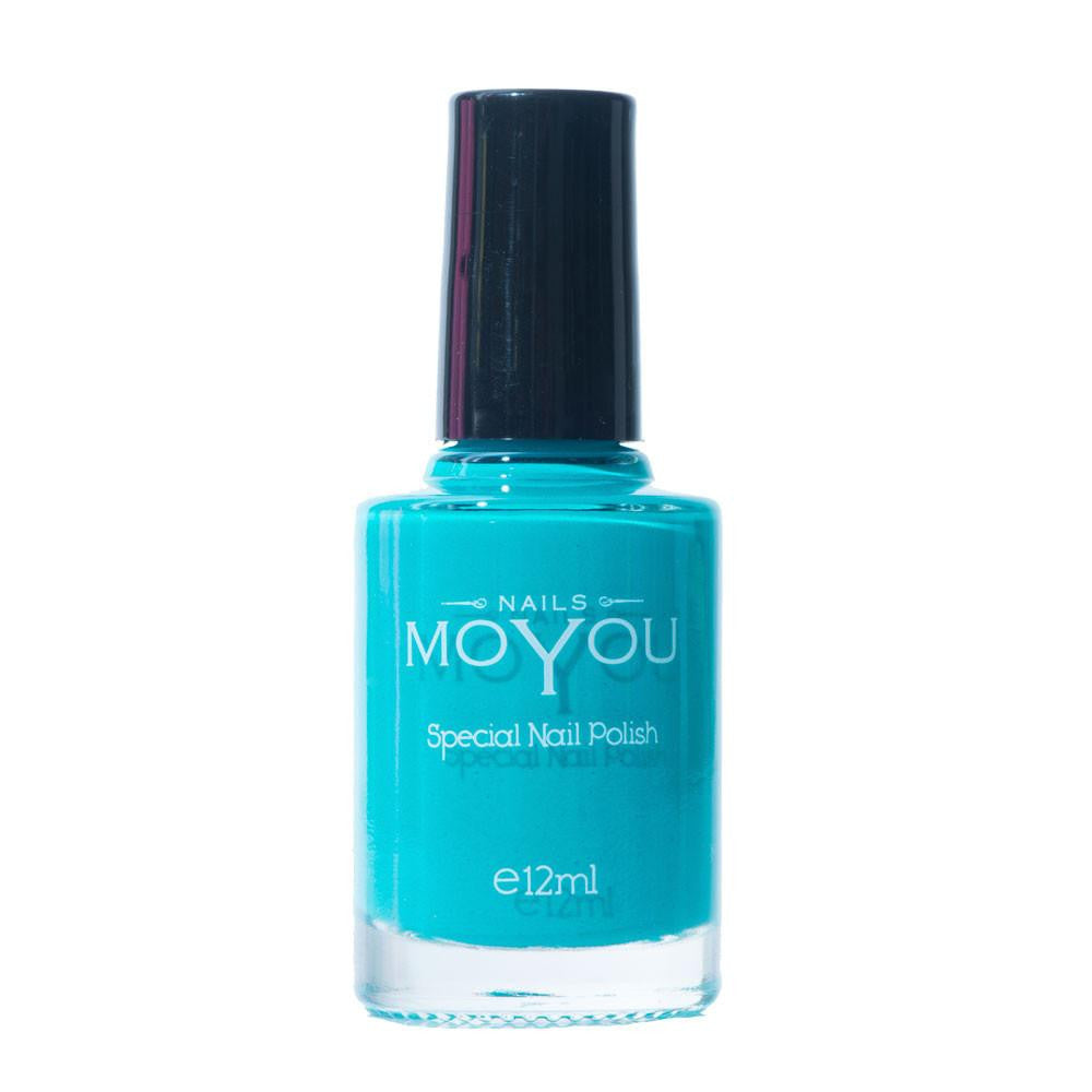 MoYou Nail Fashion Tropical Collection -Persian Turquoise