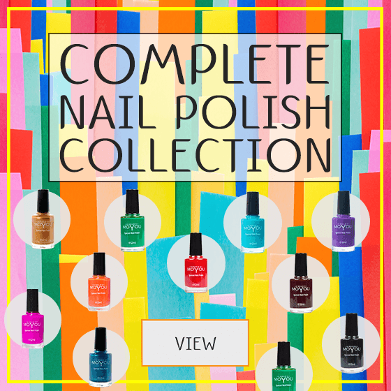 MoYou Nail Fashion Complete Stamping Nail Polish Collection