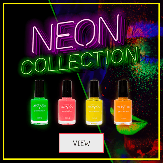 MoYou Nail Fashion Neon Collection