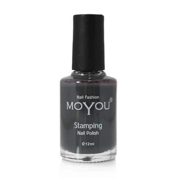 Down Grey nail polish