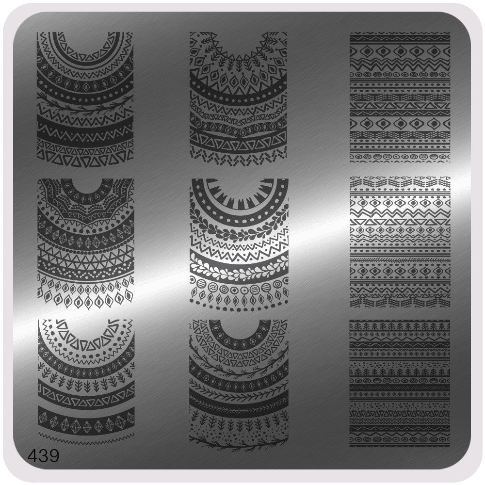 MoYou Nail Fashion Mandala Collection Stamping Image Plate - 439