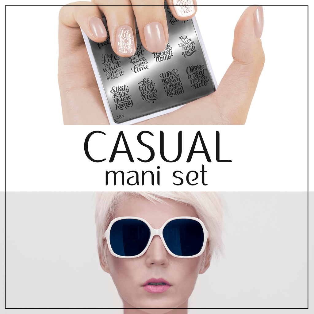 Casual Mani Set