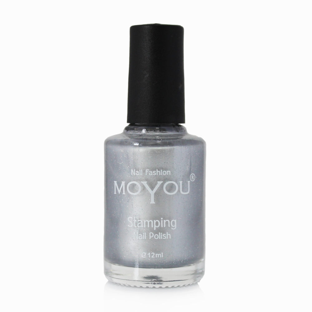 MoYou Nail Fashion - Rock N Roll Collection Silver Stamping Nail Polish