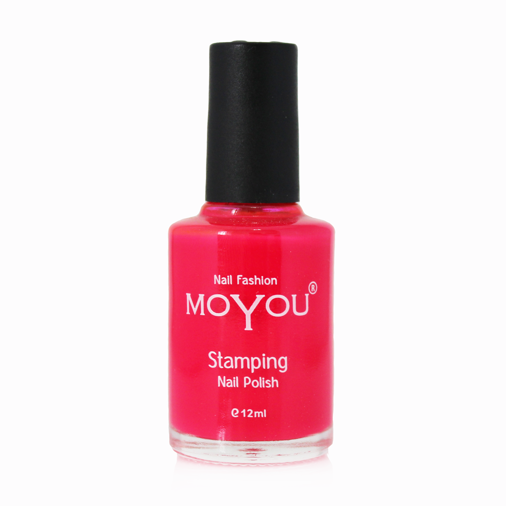 MoYou Nail Fashion - Rock N Roll Collection Torch Red Stamping Nail Polish