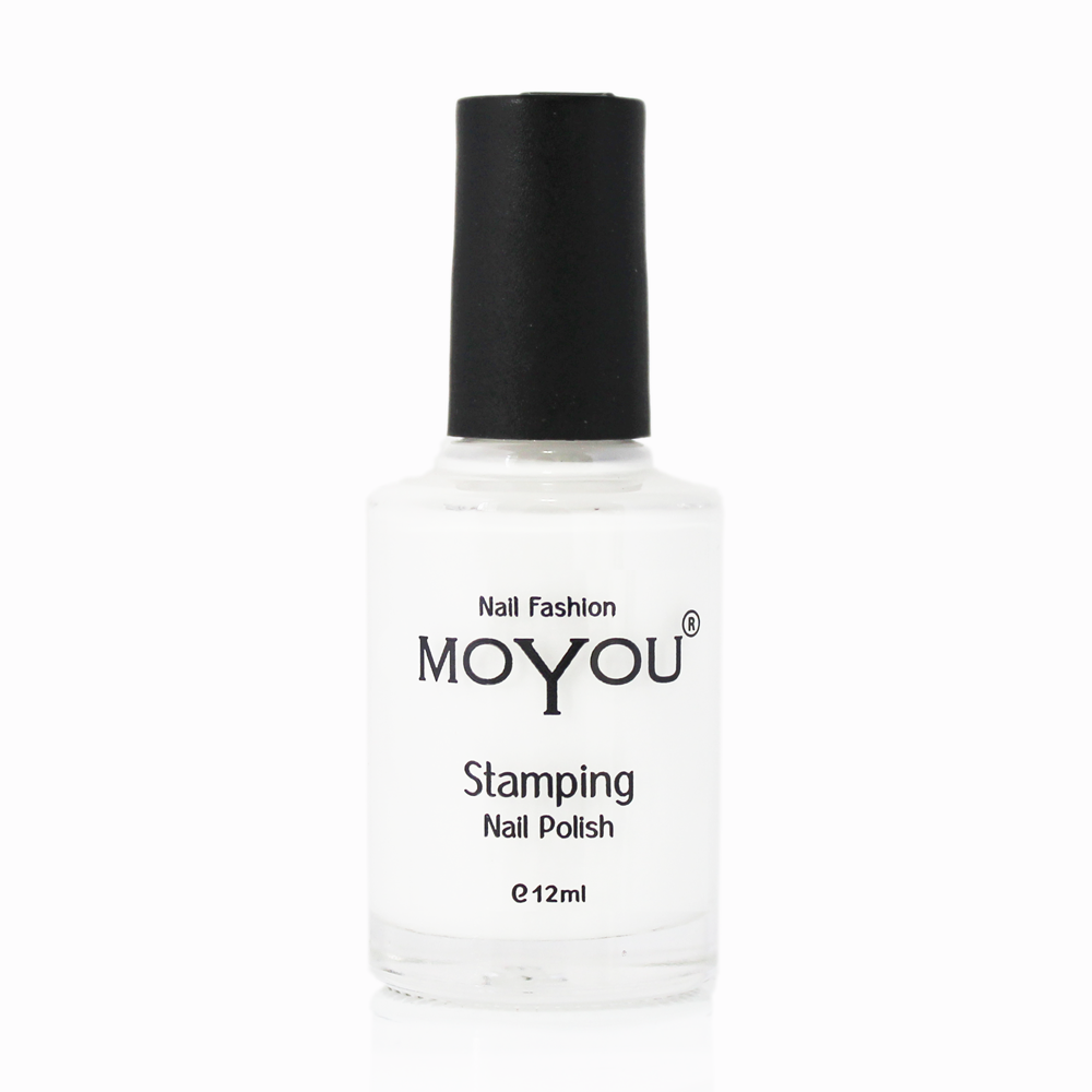 MoYou Nail Fashion - Rock N Roll Collection White Stamping Nail Polish