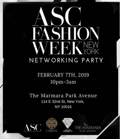 CHIC NYC 5 Star Ambassador Program now includes Fashion Week Tickets and Pre Parties