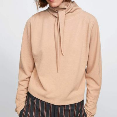 CHIC NYC Sweatshirt With Knot At Back