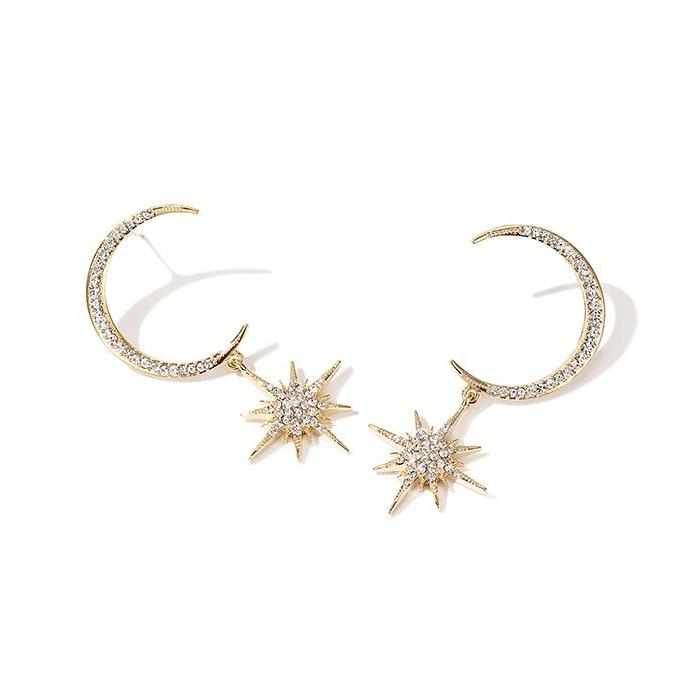 CHIC NYC Stars Moon Earrings Ear Jewelry 2019