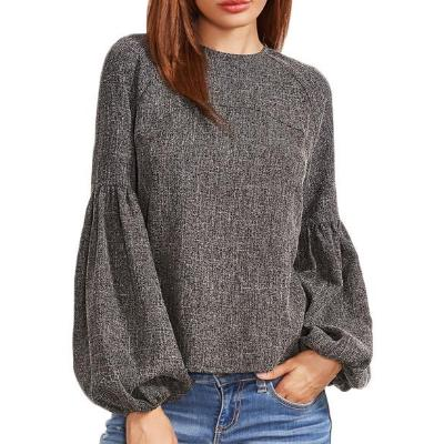 CHIC NYC Round Neck Long Sleeve Sweatshirt