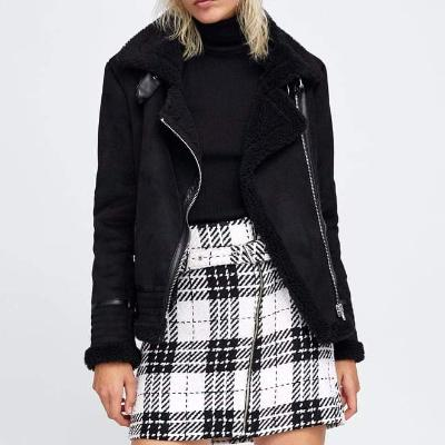 CHIC NYC Contrasting Faux Jacket