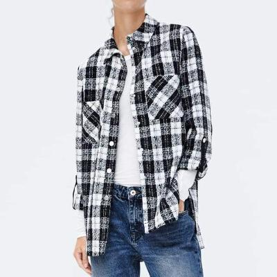 CHIC NYC Plaid Overshirt