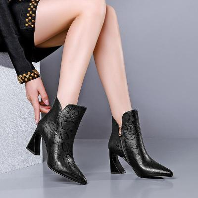 CHIC NYC Thick Heel Boots