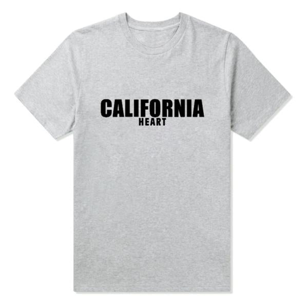 California Heart T Shirt