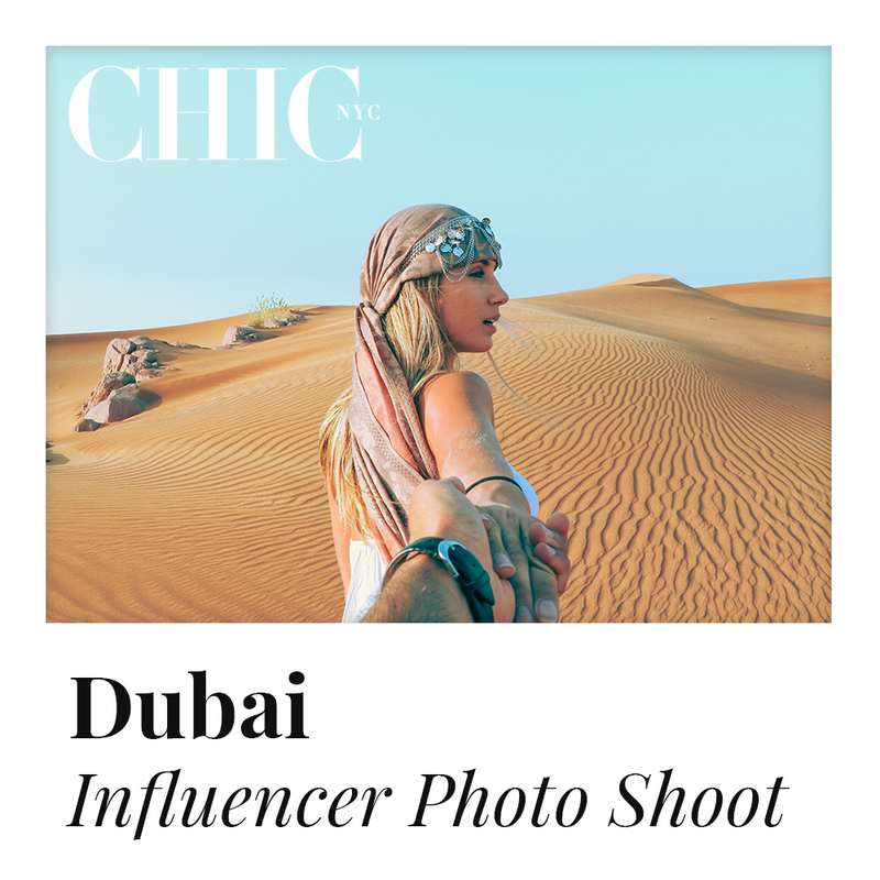 DUBAI - Enter to Win a Photo Shoot in Dubai w/ other Content Creators - LABELED TEE INCLUDED