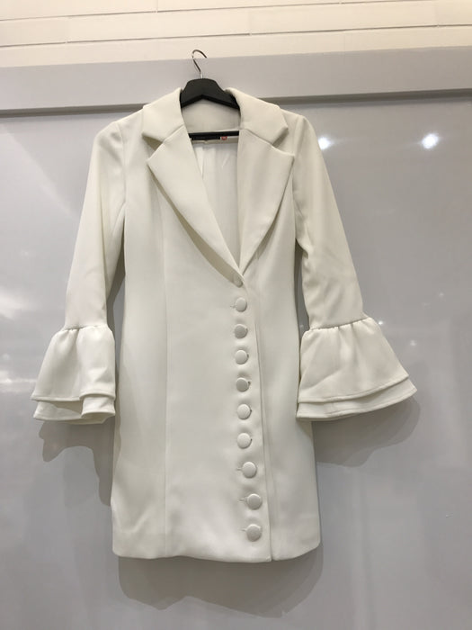 White Blazer Dress - Limited Edition