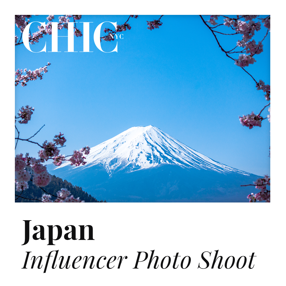 JAPAN - Enter to Win a Photo Shoot in Japan w/ other Content Creators - LABELED TEE INCLUDED
