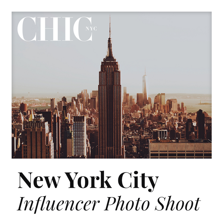 NYC - Enter to Win a Photo Shoot in New York City w/ other Content Creators - LABELED TEE INCLUDED
