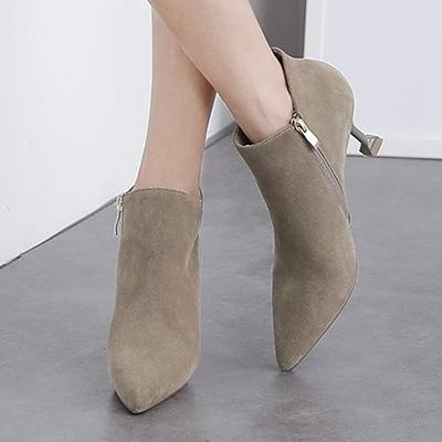 CHIC NYC Ankle Boots With Stiletto Heel