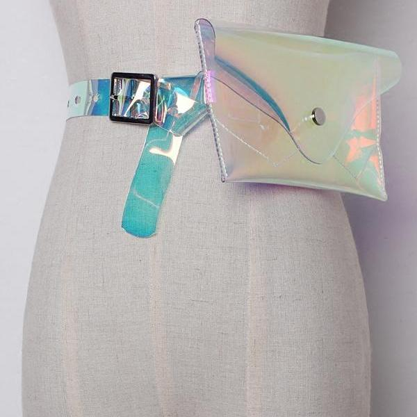 Must Have Transparency Fanny Pack - A Best Seller - A Must Have