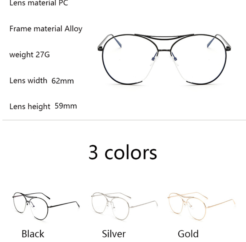 Not Your Typical Reading Clear Frames - 3 Color Options