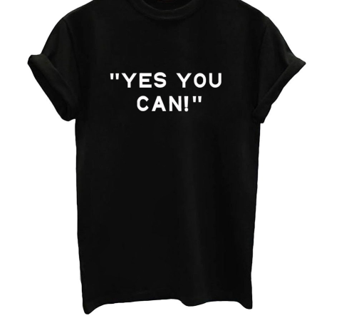 Yes You Can For A Cause - Black, White or Gray