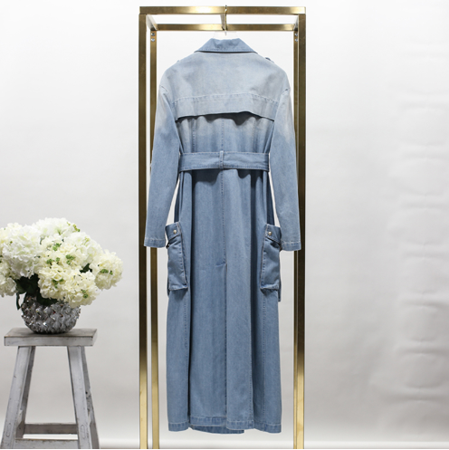 Denim Trench Coat - Small and Med