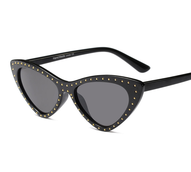 Studded Eye Wear - Black or Red - A New York City Classic