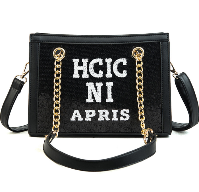 Chic in Paris Official Handbag - Sequin Chic NYC Handbag
