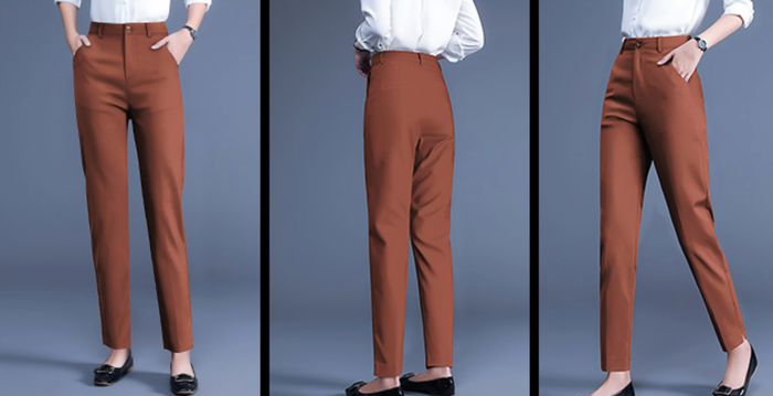 Caramel Tailored Trousers - Black also available