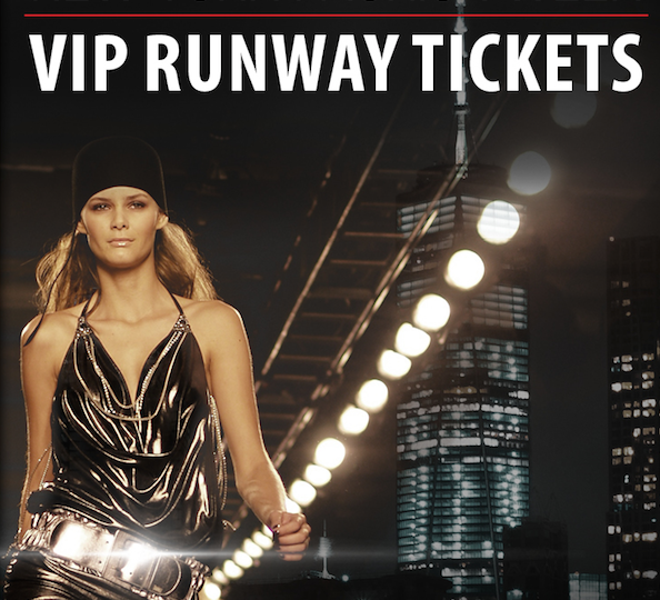 Enter to win FASHION WEEK VIP RUNWAY TICKETS to NYC, London, Paris & Milano