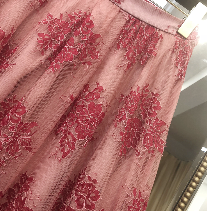 CHIC NYC Embroidered Long Skirt