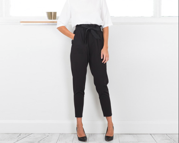 CHIC NYC High Waist Casual Trouser / Colour Options