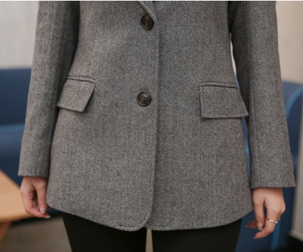 CHIC NYC Casual Female Wool Coat