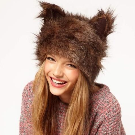 CHIC NYC Fox Fur Wool Hat