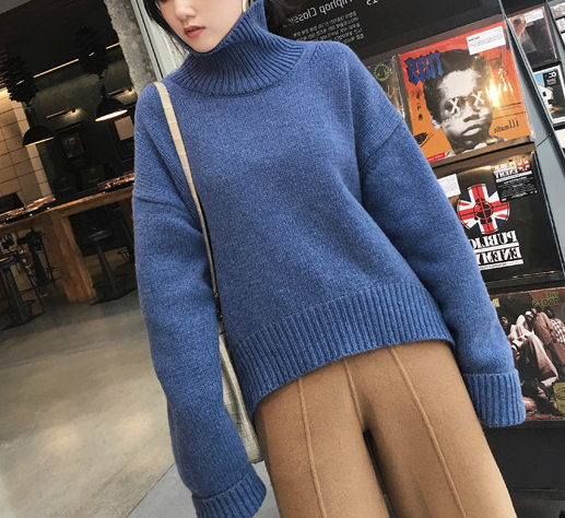 CHIC NYC Ladies High Neck Sweater