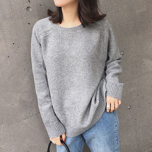 CHIC NYC Ladies Round Neck Pullover Sweater