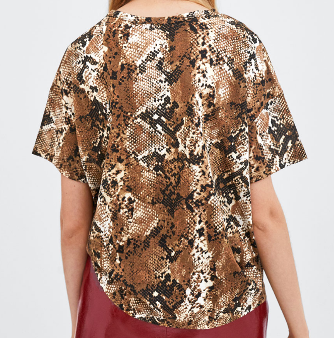 CHIC NYC Ladies Casual Printed Top