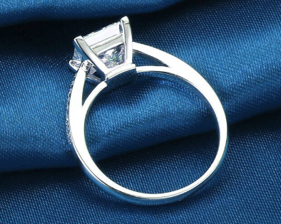 Chic NYC 925 Sterling Silver Princess Cut Ring