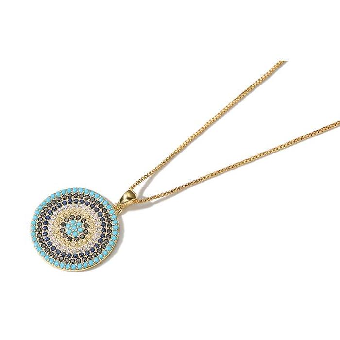 CHIC NYC Evil Eye Necklace for Clothes Accessories Fall 2018