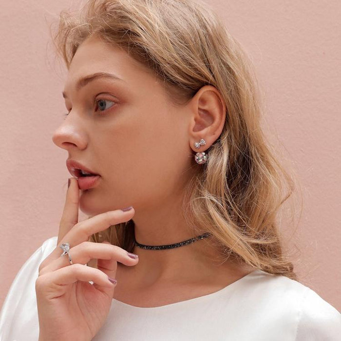 CHIC NYC Bow Earrings Female Temperament Earrings 2019