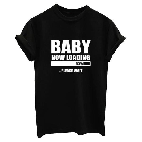 Baby Now Loading For A Cause - Black, White or Gray