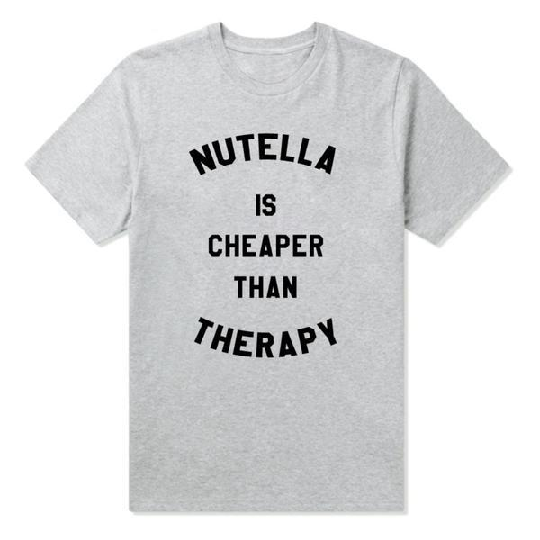 Nutella For A Cause - Black, White or Gray