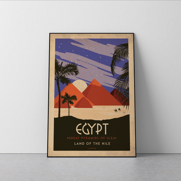 Art deco - Egypt - World collection