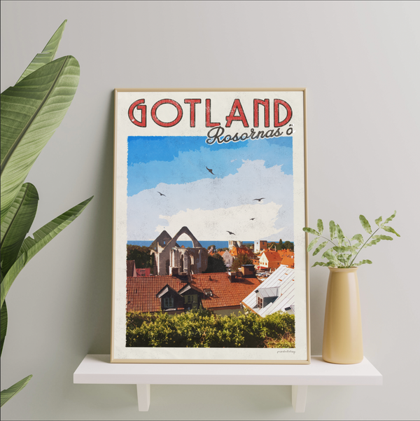 Gotland - Vintage Travel Collection