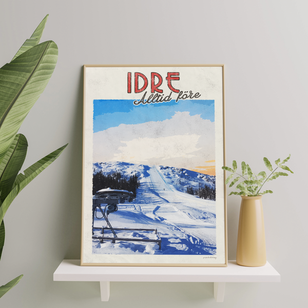 Idre - Vintage Travel Collection